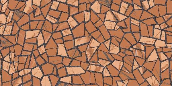 - 600 x 1200 mm (24 x 48 inç) - rock-mosaic-brown-1